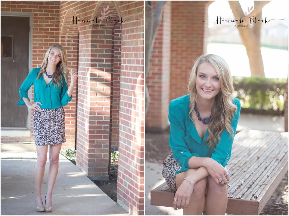 senior photography session