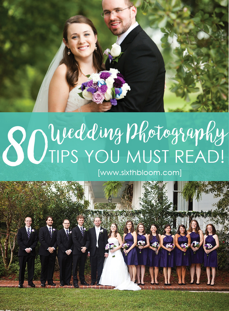 Tips for Shooting your First Wedding
