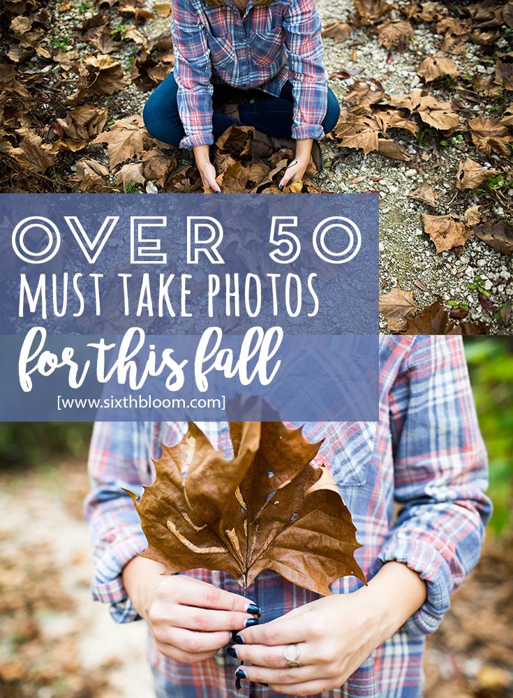 Over 50 Fall Photo Ideas