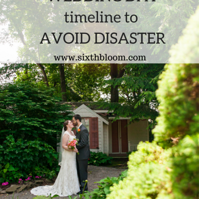 Creating a Wedding Timeline to Avoid a Disaster