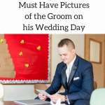 pictures of the groom at his wedding
