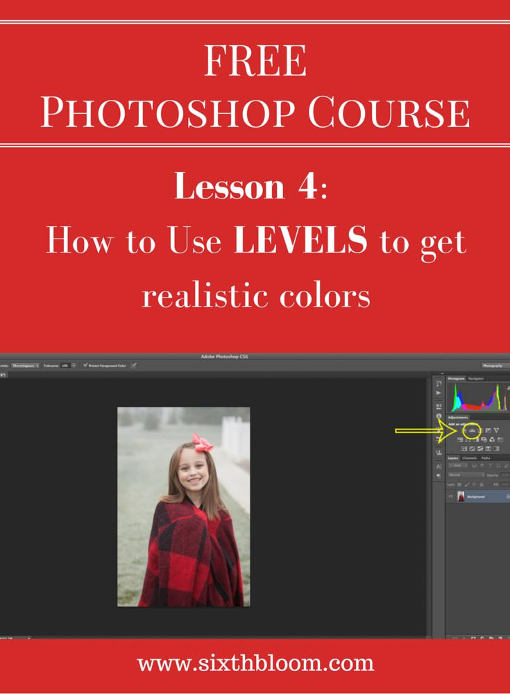 Pin photoshop lesson 4