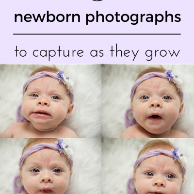 5 Newborn Photographs to capture as they grow