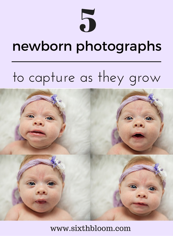 newborn pictures to take