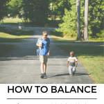 how to balance being a WAHM