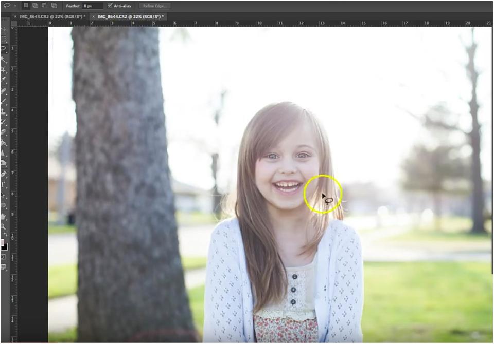 photo editing a head swap