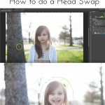 photoshop course head swap