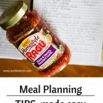 WAHM Meal Planning Tips