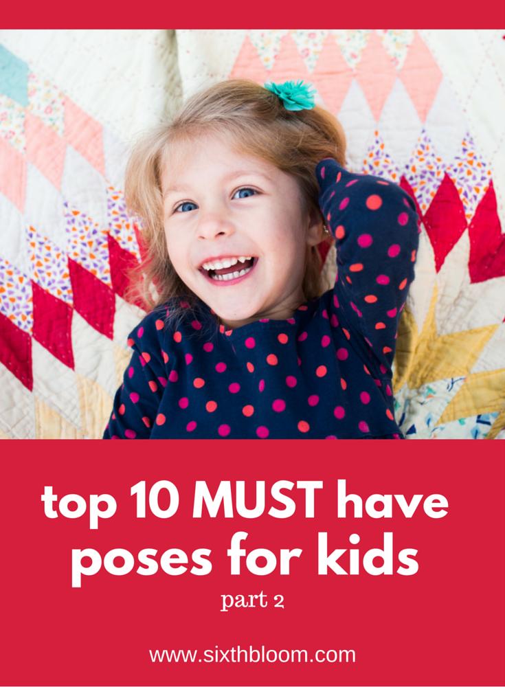 posing kids