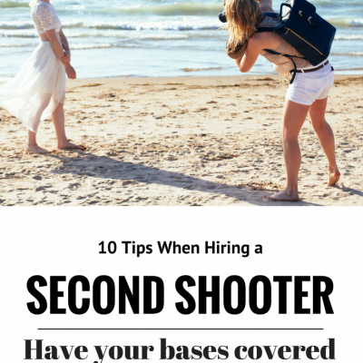 10 Tips When Hiring a Second Shooter