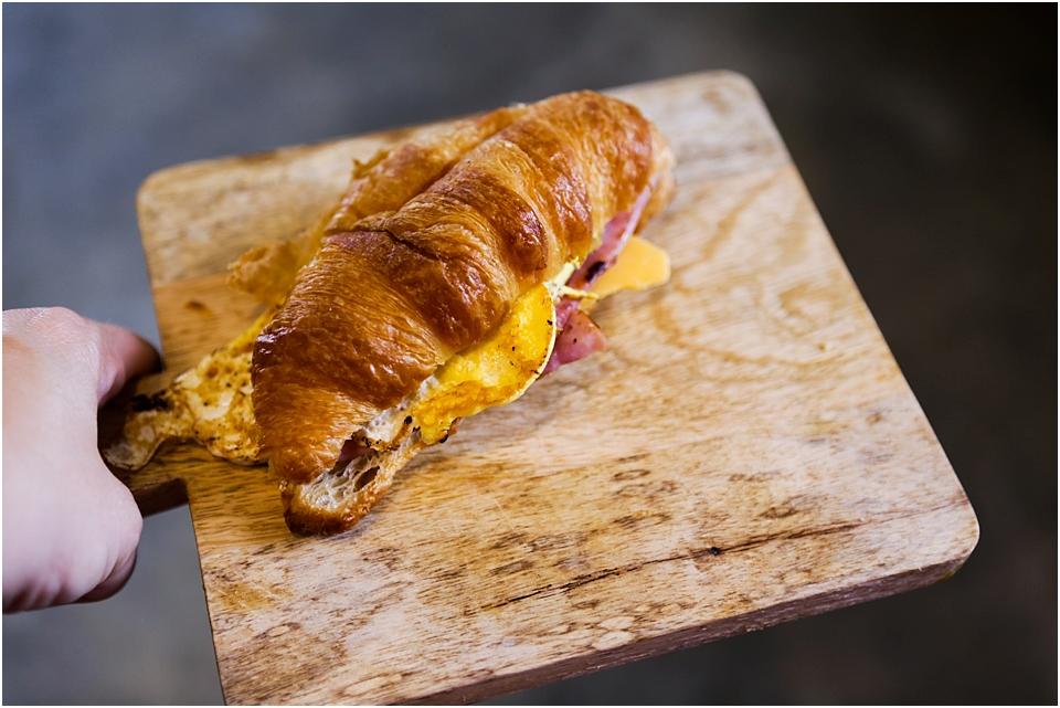 ham cheese egg croissant recipe