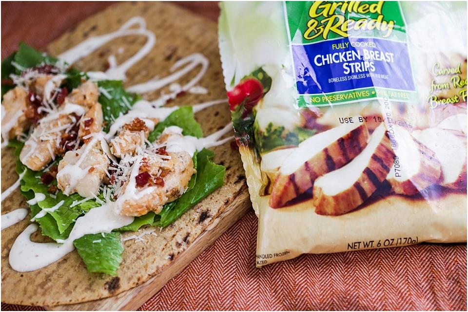 caesar wrap lunch recipe