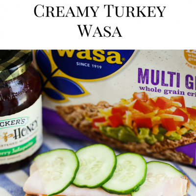 Better For You Snack | Creamy Turkey Wasa