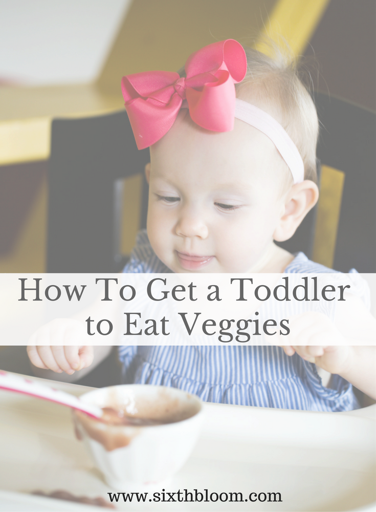 tricks toddler eat veggies