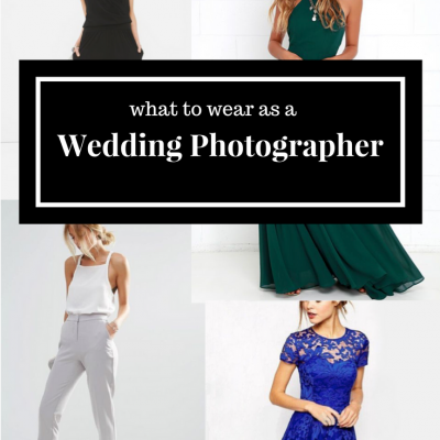 What to Wear when You are the Wedding Photographer