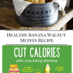 Healthy Banana Walnut Muffin Recipe