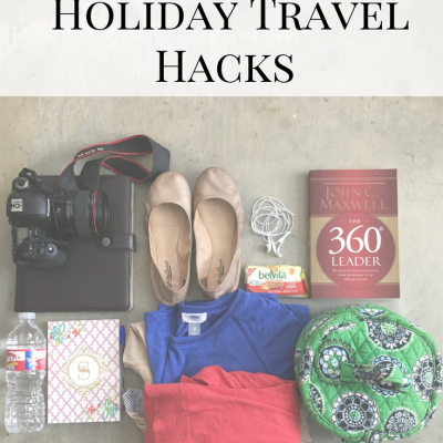 Save Your Sanity -10 Hacks for Holiday Travel