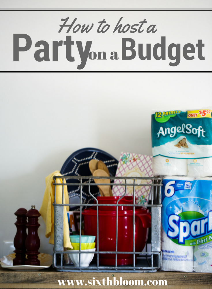 party on a budget