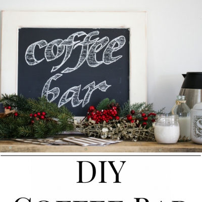 DIY Coffee Bar Idea