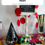 DIY props photo booth