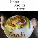 hamburger sauce recipe