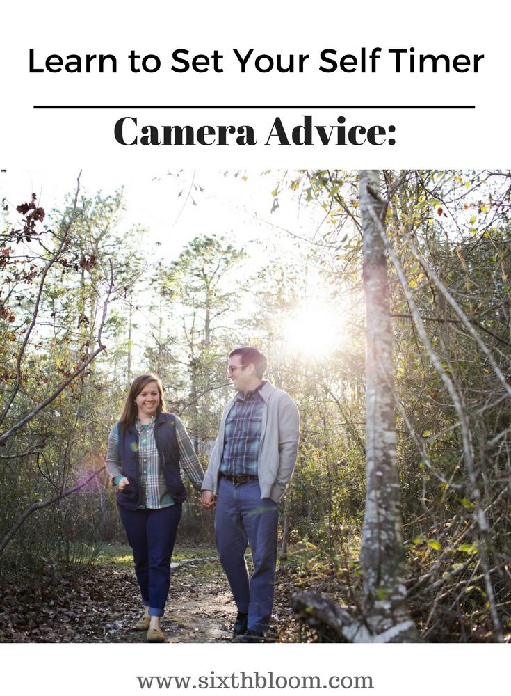 camera self timer tips