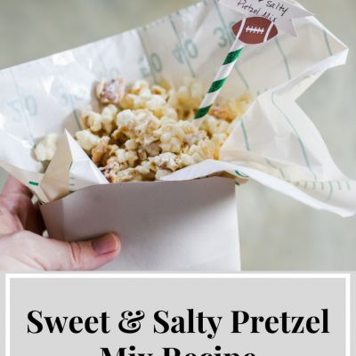 Sweet & Salty Popcorn Pretzel Mix
