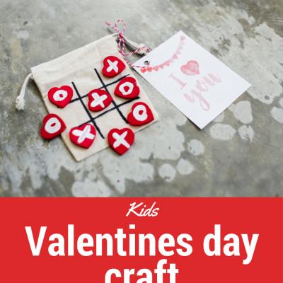 Kids Valentines Day Craft + Free Printable