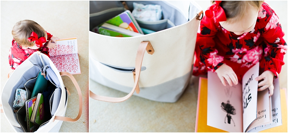 Ordered This Bag Petunia Picklebottom Tote From Baby Cubby One I Loved The Simplicity Of Looks And Two It Had What Felt Like Was Some Practical