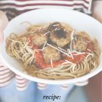 Spaghetti & Meatball Recipe