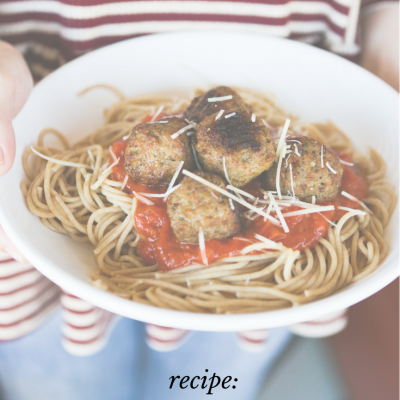 Spaghetti & Meatball Recipe