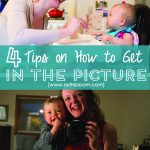 4 Tips on How to Get in the Pictures with Your Kids