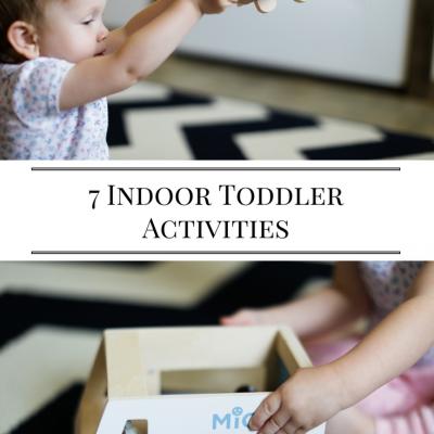 Toddler Indoor Play Ideas