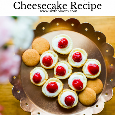 Petite Cherry Cheesecake Recipe