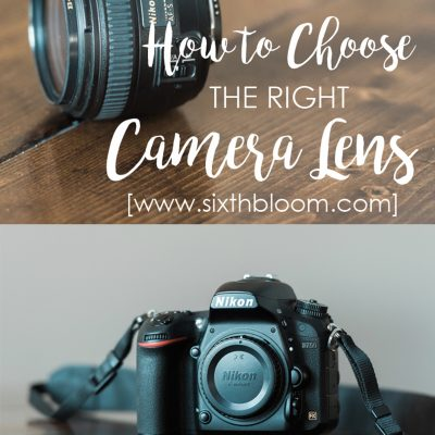 What Camera Lens to Buy and Not Buy