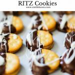 Peanut Butter Chocolate Ritz Cookies