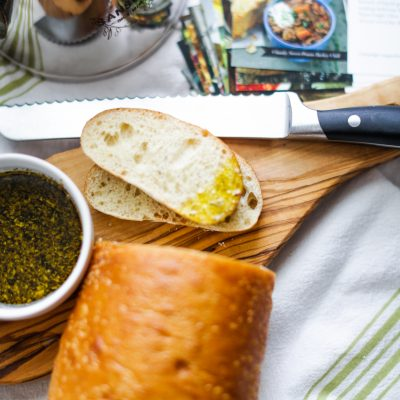 Olive Oil and Balsamic Bread Dip