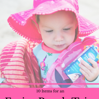 10 Items You Need for an Easier Beach Trip with a Toddler