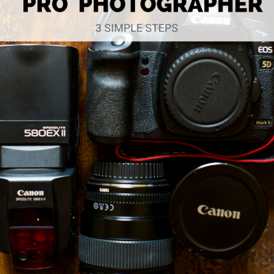 How to become a Pro Photographer – Without School