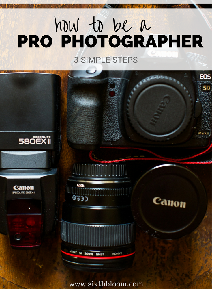 How to become a Pro Photographer