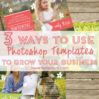 Three Ways Photoshop Templates Can Help You Promote Your Business