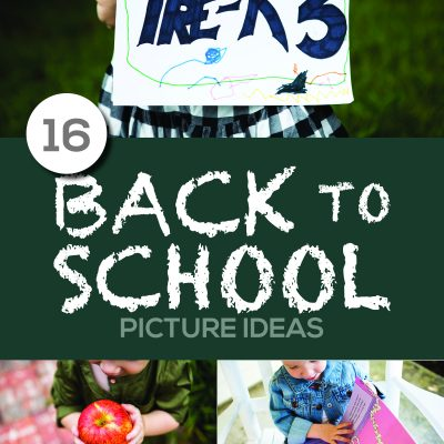 16 Clever – Back To School Picture Ideas
