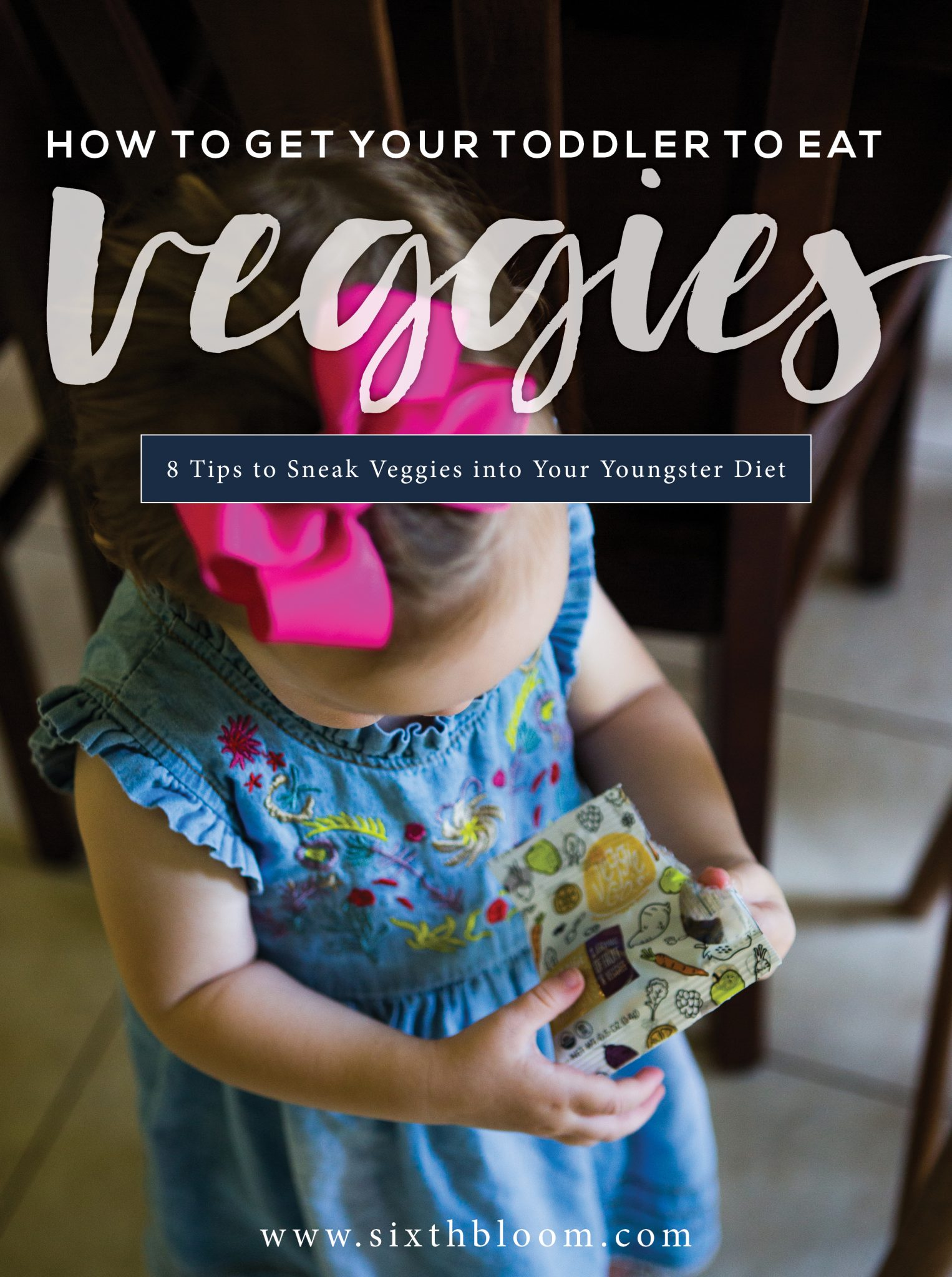 sneak vegetables into toddler food
