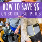 5 Ways to Save Money on Back to School Supplies