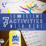 Top 7 Summertime Kids Activities & Crafts