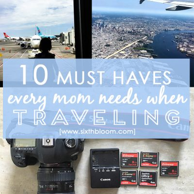 10 Things Every Mama Needs to Pack in Her Bag