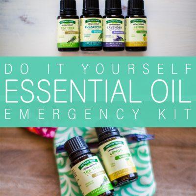 DIY Essential Oil Emergency Kit