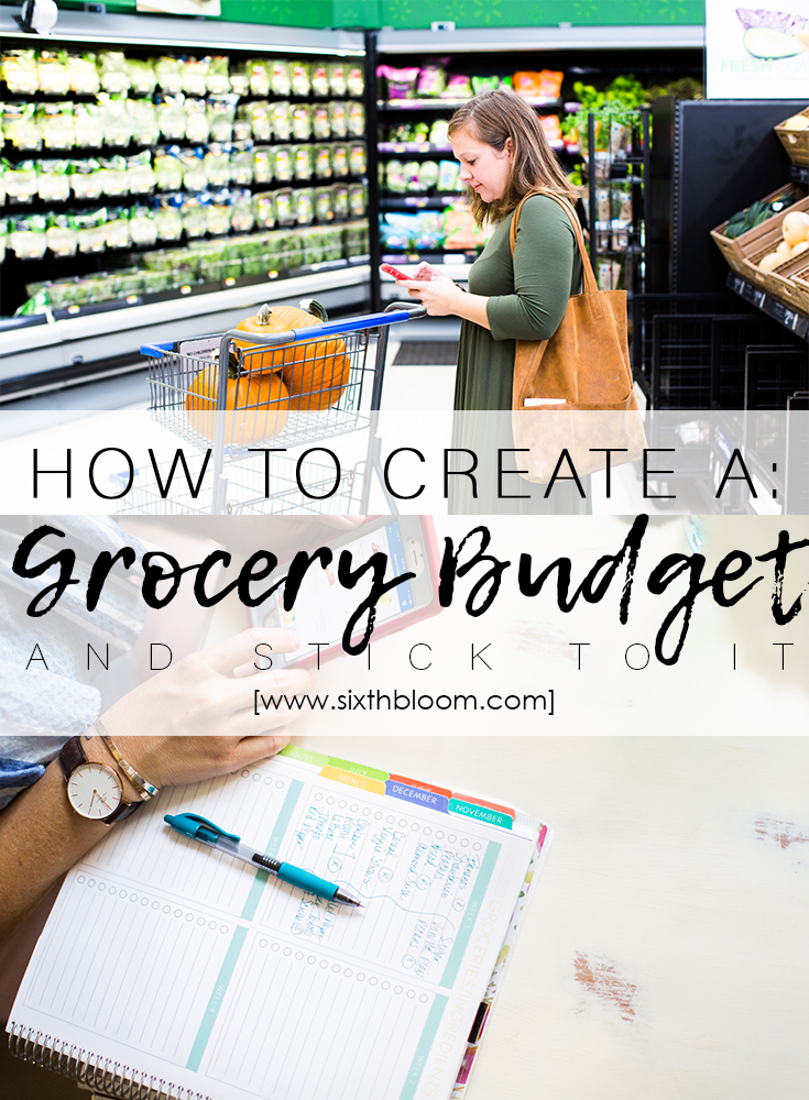 How to Create a Grocery Budget
