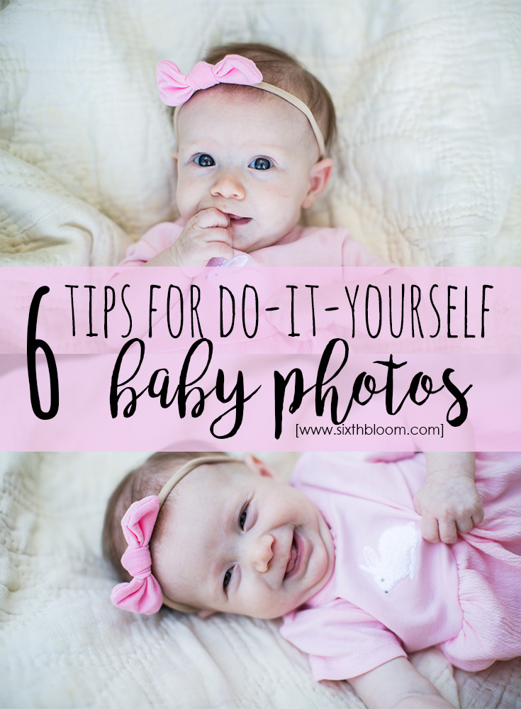 DIY Baby Pictures