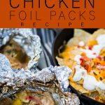 Honey Lime Chicken Foil Pack Recipe